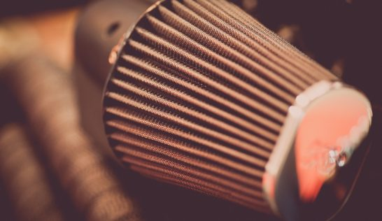 oiled air filter