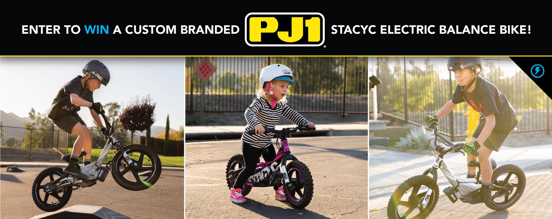 PJ1 | STACYC Giveaway