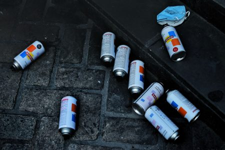 what are the different types of paint, spray paint cans