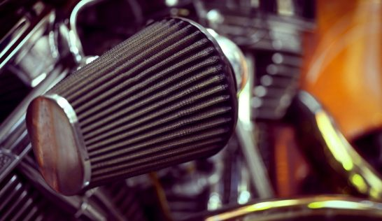Motorcycle air filter.