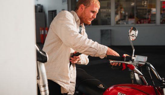 motorcycle fuel up, fuel injector cleaning